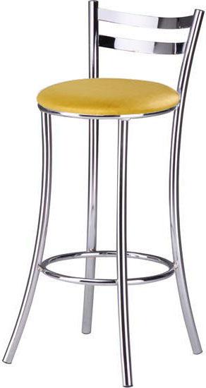Banquetas Sidamo SD 310 metalizado             dourado