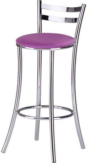 Banquetas Sidamo SD 310 metalizado lilás